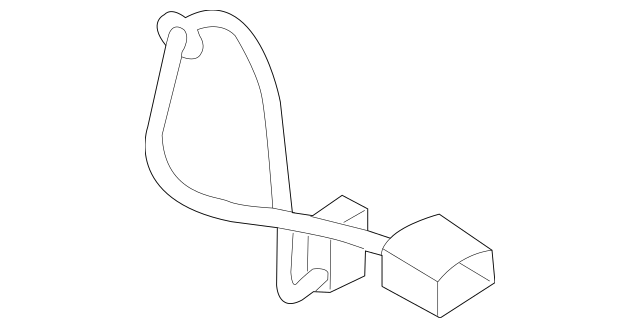 Genuine OEM 2011-2013 Volvo S60 Connector Wire 30786388