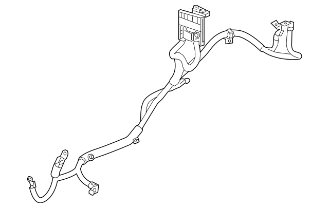 2013-2015 Chevrolet Spark Positive Cable 95075146