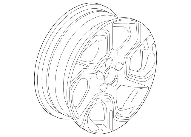 Honda Disk, Aluminum Wheel (18X7 1/2J) (Maxion Wheels
