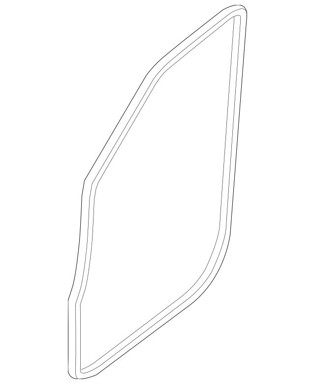 2012-2018 Nissan Weather-Strip On Body 76922-1PA0A