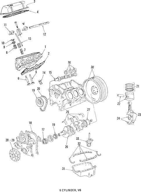 1986 Pontiac Engine Diagram