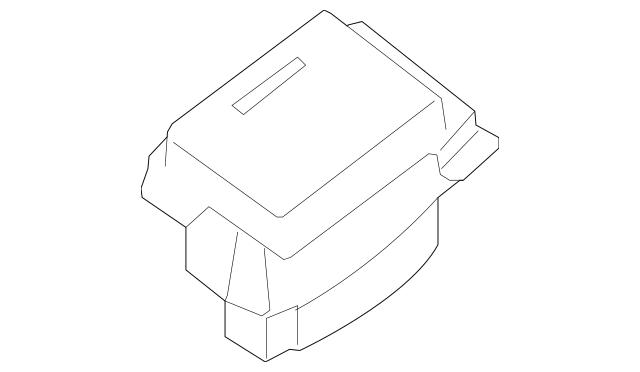2009-2014 Nissan Maxima Storage Pocket 96924-9DF0A