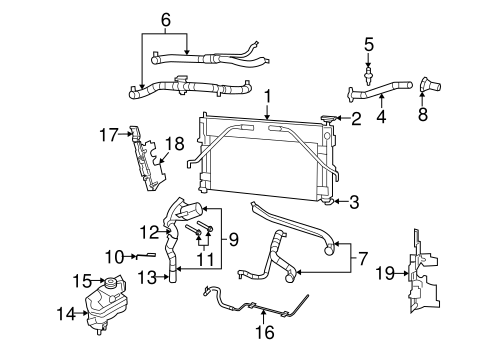 Dodge Dakota Radiator Shield, Dodge, Free Engine Image For