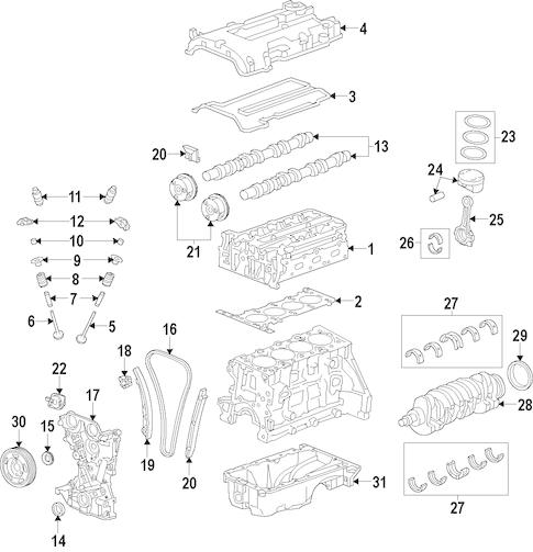 Engine for 2012 Hyundai Elantra