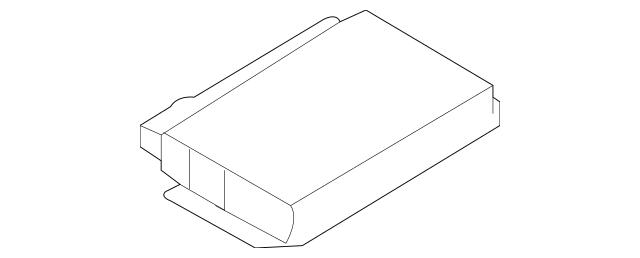 2003-2009 Audi Genuine Control Module Part# 8H0-959-433-L