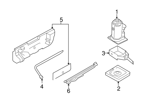 JACK & COMPONENTS for 2015 Ford Transit-250