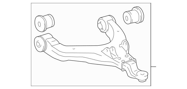 Genuine OEM Lower Control Arm Part# 48068-35120 Fits 1995