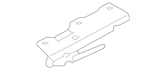 Genuine OEM Guide Part# 81648-38000 Fits 2001-2006 Kia