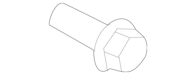 2001-2018 Hyundai Engine Crankshaft Pulley Bolt 23127
