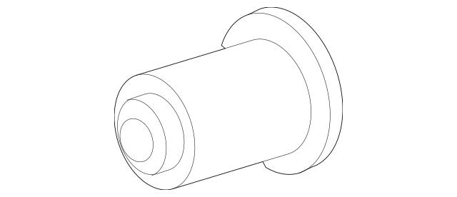 Genuine Lower Control Arm Rear Bushing Qty of 1 48655