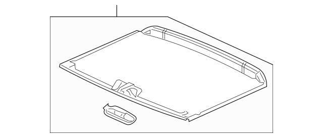 2015-2019 Honda FIT 5-DOOR Sunshade Assembly *NH882L