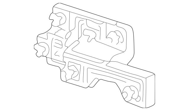 2003-2004 Porsche Boxster Socket Panel 986-631-456-02