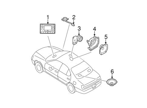 Sound System Parts for 2000 Buick Park Avenue