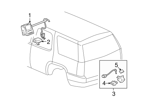 Electrical Components for 2007 Chevrolet Suburban 1500
