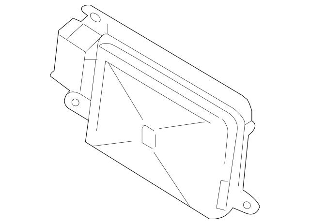 2011-2015 Porsche Cayenne Object Sensor 958-618-566-01