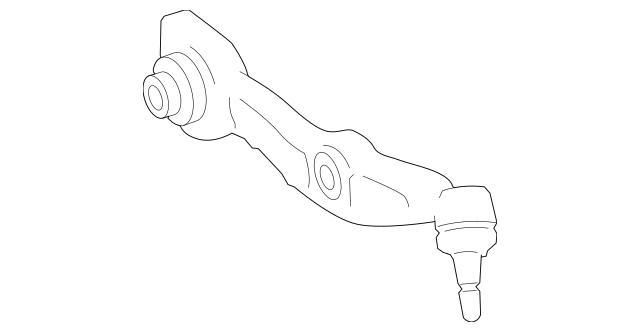 Genuine Mercedes-Benz Lower Control Arm 221-330-77-07-80