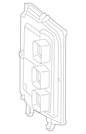 Honda Control Module, Powertrain (Rewritable) (37820-5K1