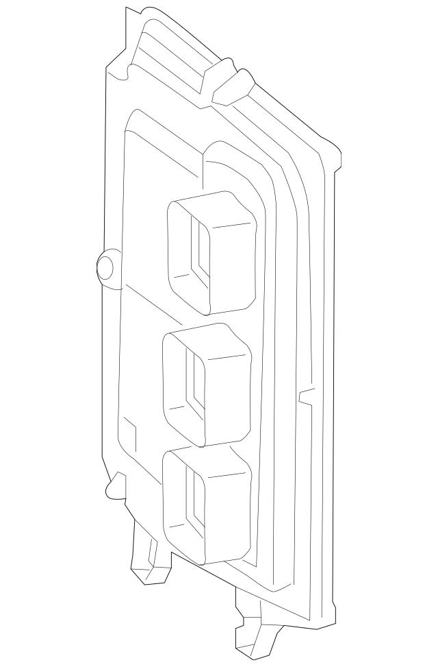 2014-2015 Honda ACCORD HYBRID SEDAN Control Module