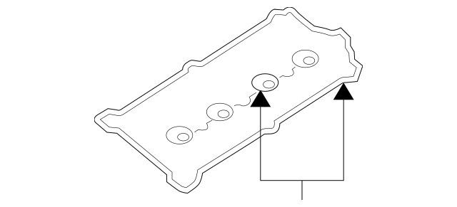 1998-2005 Audi Valve Cover Gasket Set 078-198-025