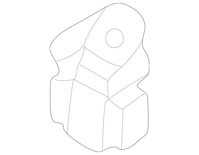 Honda Damper, Side Engine Mount Dynamic (50808-S87-A80