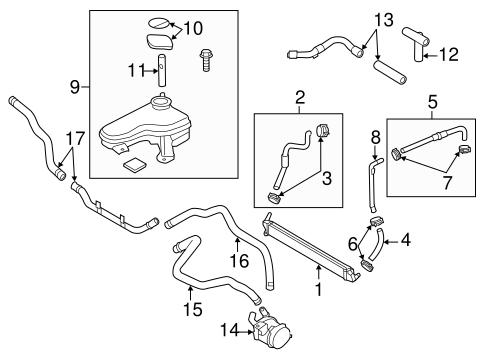 Inverter Cooling Components for 2011 Hyundai Sonata