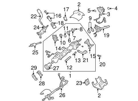 Position Sensor Retainer Clip for 2009 Chevrolet Silverado