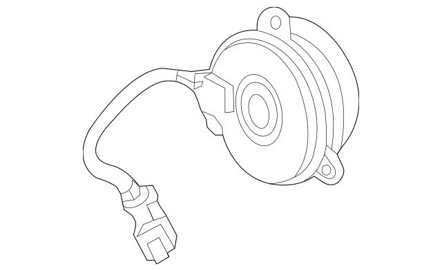 2016-2017 Acura RDX 5-DOOR Motor, Cooling Fan (Denso