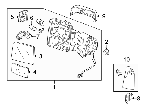 13-15 Ford F250 F350 F450 F550 Passenger Trailer Tow