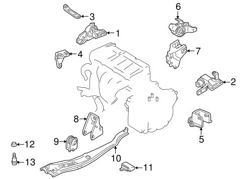 2002 Mazda Protege5 Engine Diagram : Mazda Protege