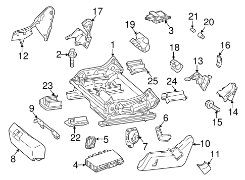 Tracks & Components for 2002 Mercedes-Benz S 430