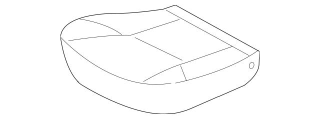 2012-2014 Toyota Tacoma Cushion Cover 71071-0Y160-E3
