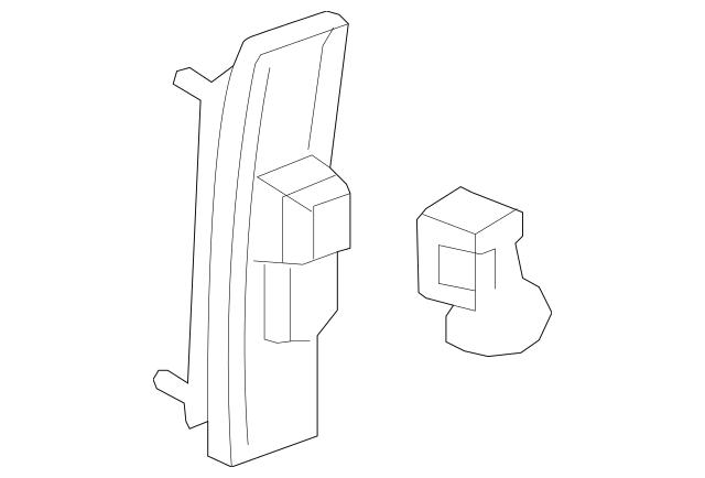 2012-2013 Honda FIT 5-DOOR Adjuster, Shoulder Slide