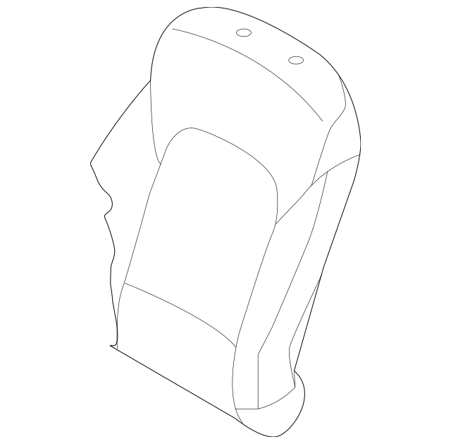 Hyundai Seat Back Cover (88460-B8060-ZZD) For Sale