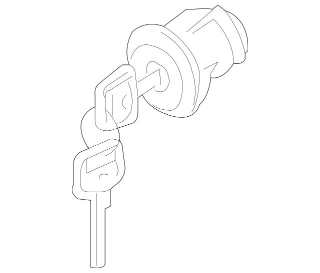 Nissan Ignition Lock Cylinder (D8700-EA010) For Sale