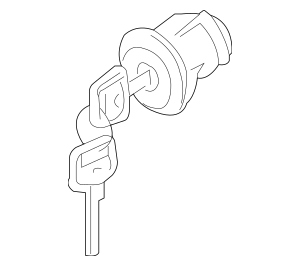 2005-2014 Nissan Xterra Ignition Lock Cylinder D8700-EA010