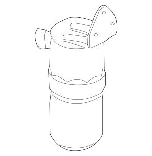 Genuine Dehydrator for 2007-2009 Audi S8 Part# 4E0-820-189