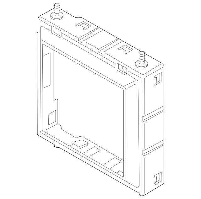 BMW Frame For Remote Radiator 17999911 17-11-8-742-470