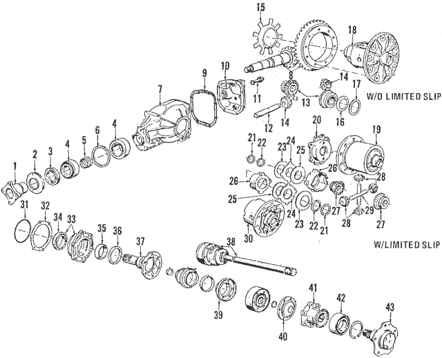 Genuine OEM Pinion Seal Part# 31-50-7-609-535 Fits 1984