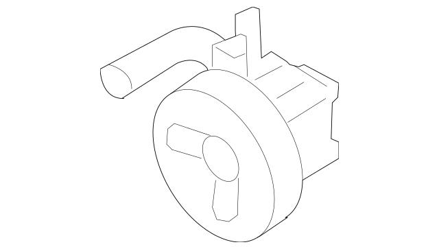 Genuine OEM Power Steering Pump Part# 57100-3E000 Fits