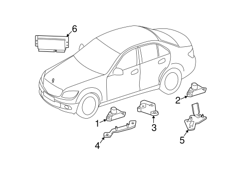 Ride Control Components for 2009 Mercedes-Benz CLS 550