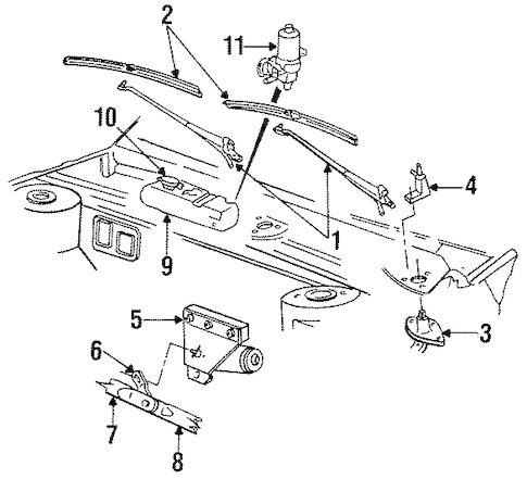 Service manual [Replace Wiper Arm 1996 Chrysler New Yorker