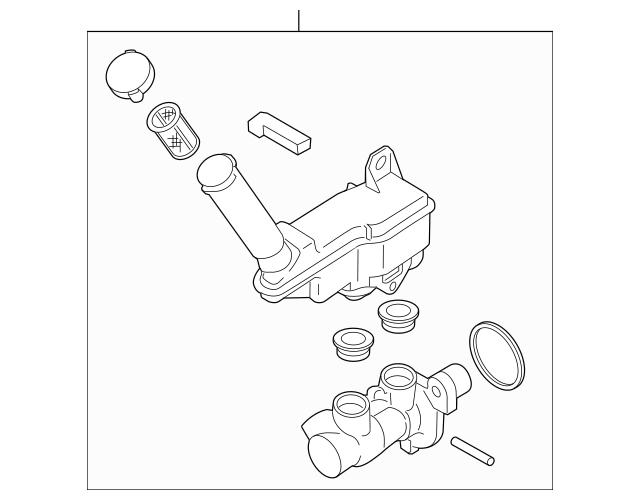 2011-2017 Nissan Juke Master Cylinder Assembly D6010-1KD0A