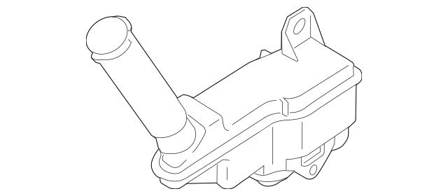 2014-2017 Nissan Juke Master Cylinder Reservoir 46091