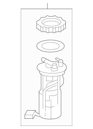 2012-2013 Honda CIVIC HYBRID SEDAN Module Assembly, Fuel