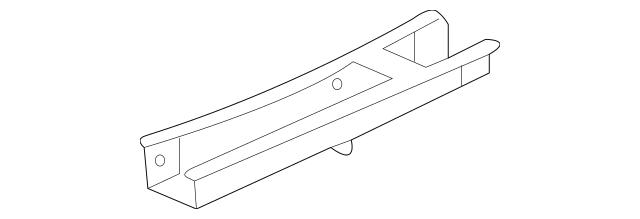 Buy this Genuine 2006-2012 Mitsubishi Eclipse Rear Rail