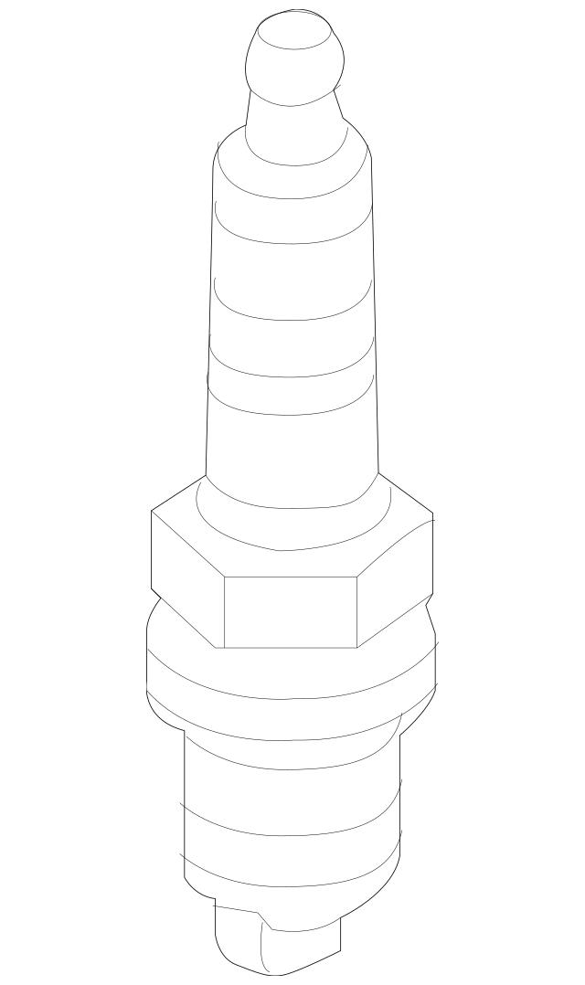 Genuine OEM Spark Plug Part# 18849-09085 Fits 2011-2019