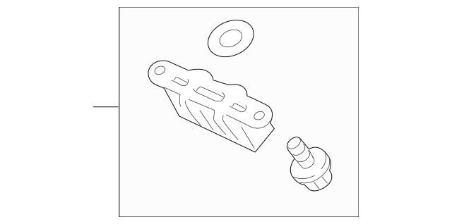 2010-2015 Honda CROSSTOUR 5-DOOR Damper, Tailgate Dynamic