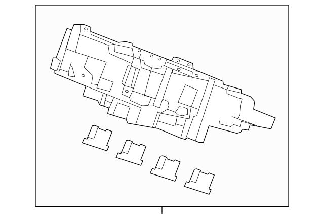 2017 Honda CIVIC 5-DOOR Box Assembly, Fuse 38200-TEA-A11