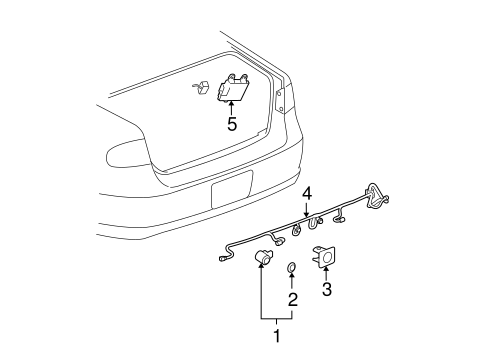 Electrical Components for 2007 Buick Lucerne