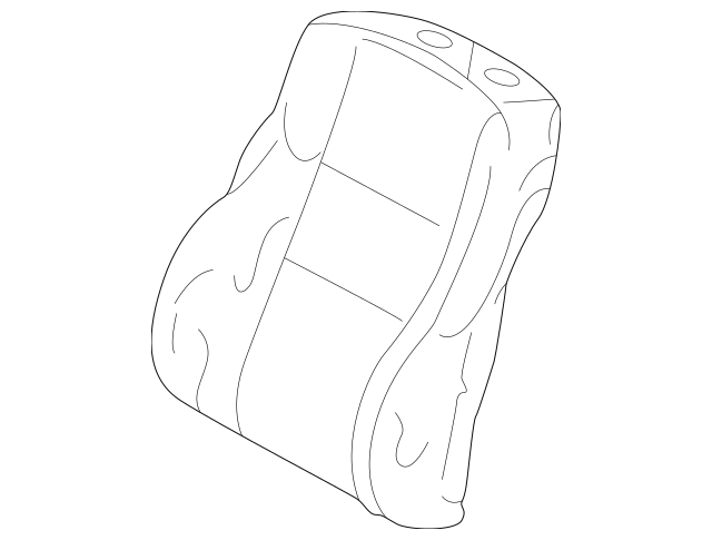 1994-1996 Mercedes-Benz Seat Back Cover 202-910-25-47-8F19